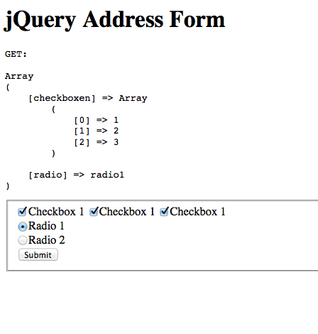 jQuery Address and History Forms - Remembering form choices