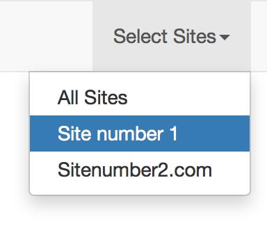 Laravel multi site multi tenant navigation bar illusatration